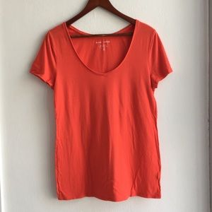 Anthropologie Red T-shirt